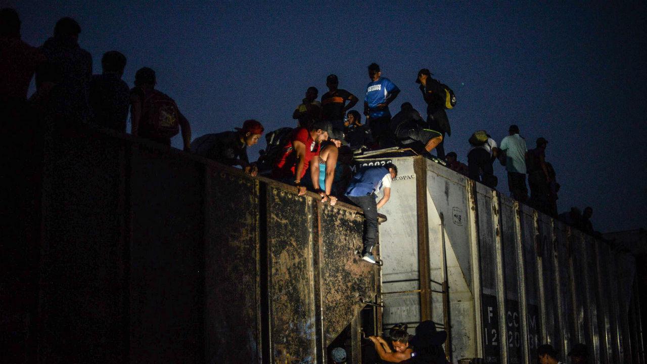 protesta migrantes
