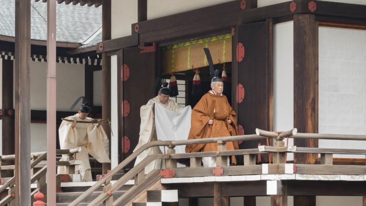 abdicación de Akihito
