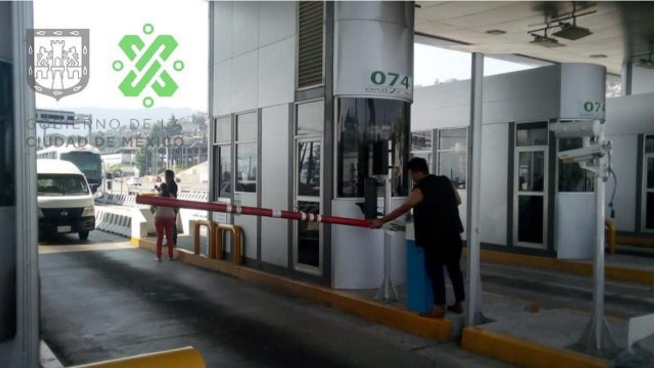 caseta México-Cuernavaca