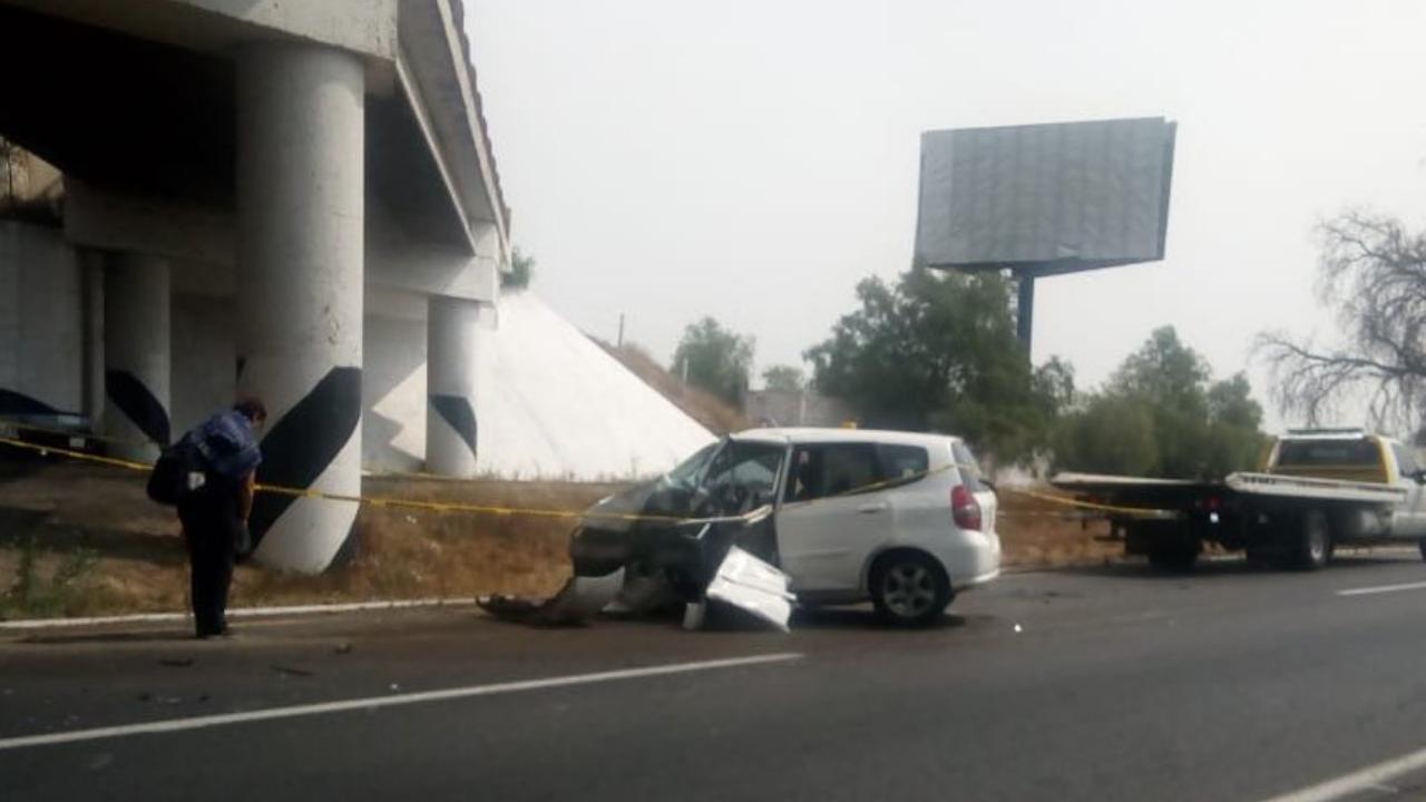 accidente México-Pirámides