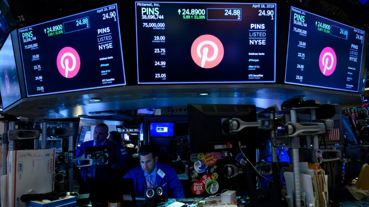 Pinterest Wall Street