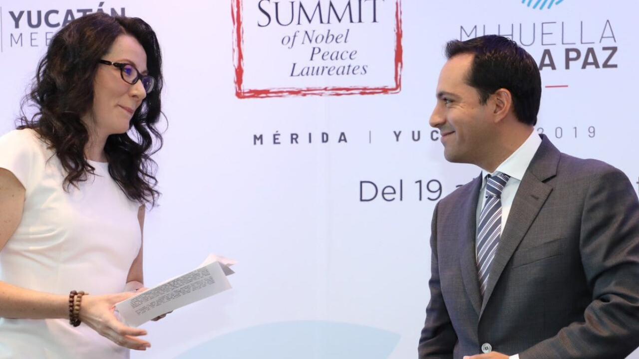 Yucatán Premio Nobel Paz