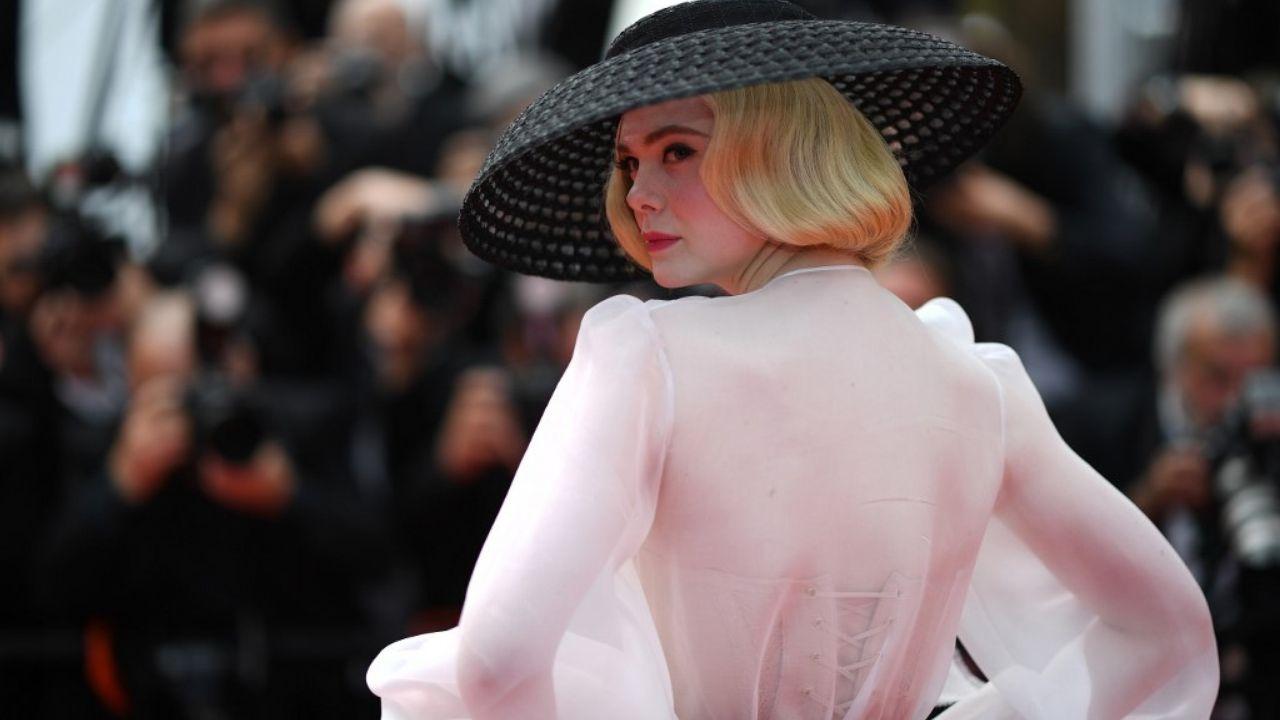 Cannes Elle Fanning