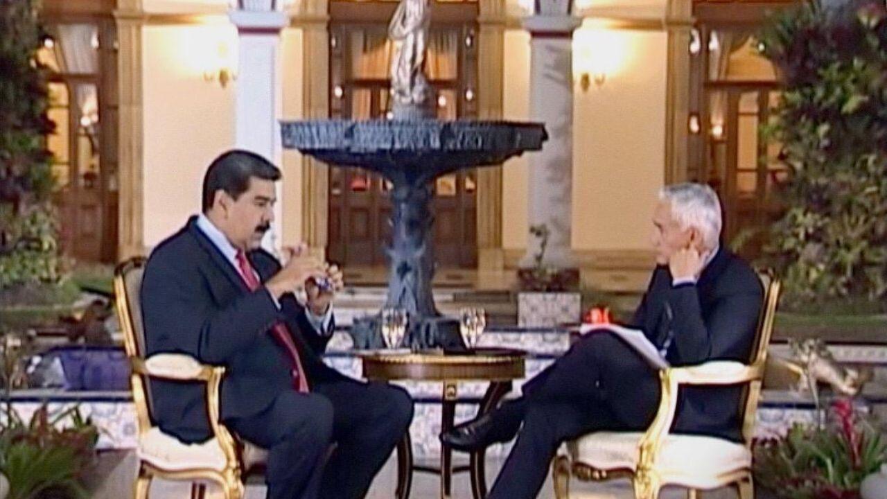 Jorge Ramos Nicolás Maduro