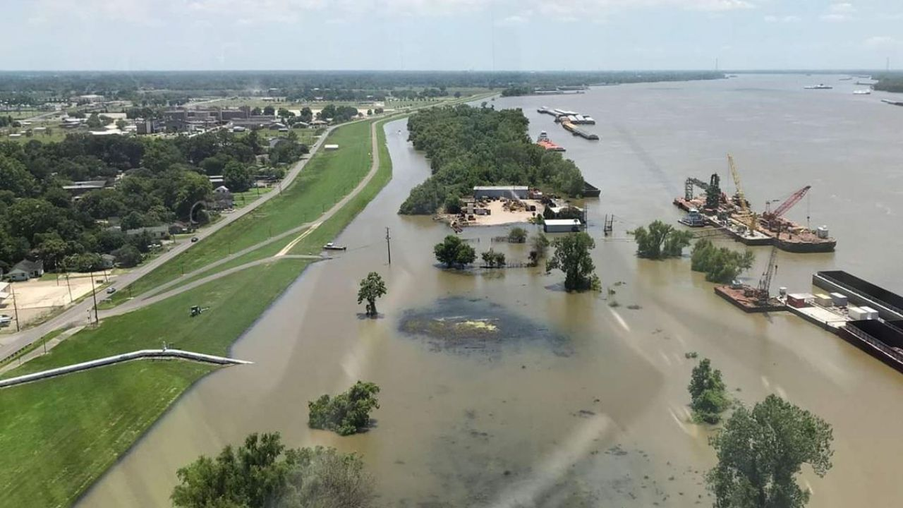 Inundaciones Mississippi Arkansas