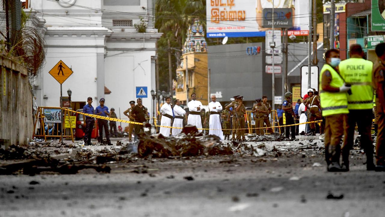 Policía de Sri Lanka da nombre de kamikazes