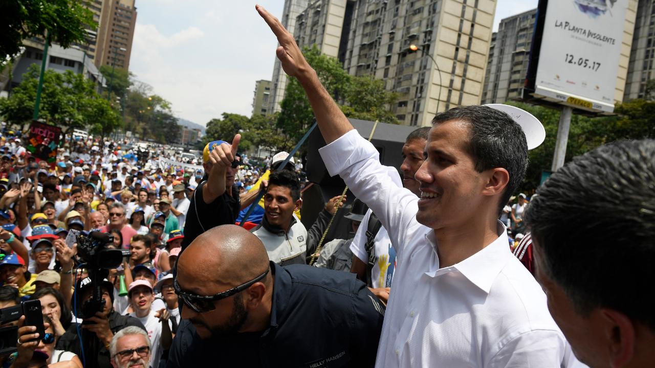 Juan Guaidó llama a seguir con las protestas