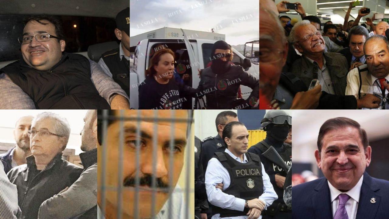 gobernadores detenidos