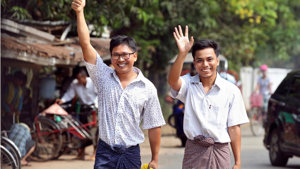 Birmania- Reuters