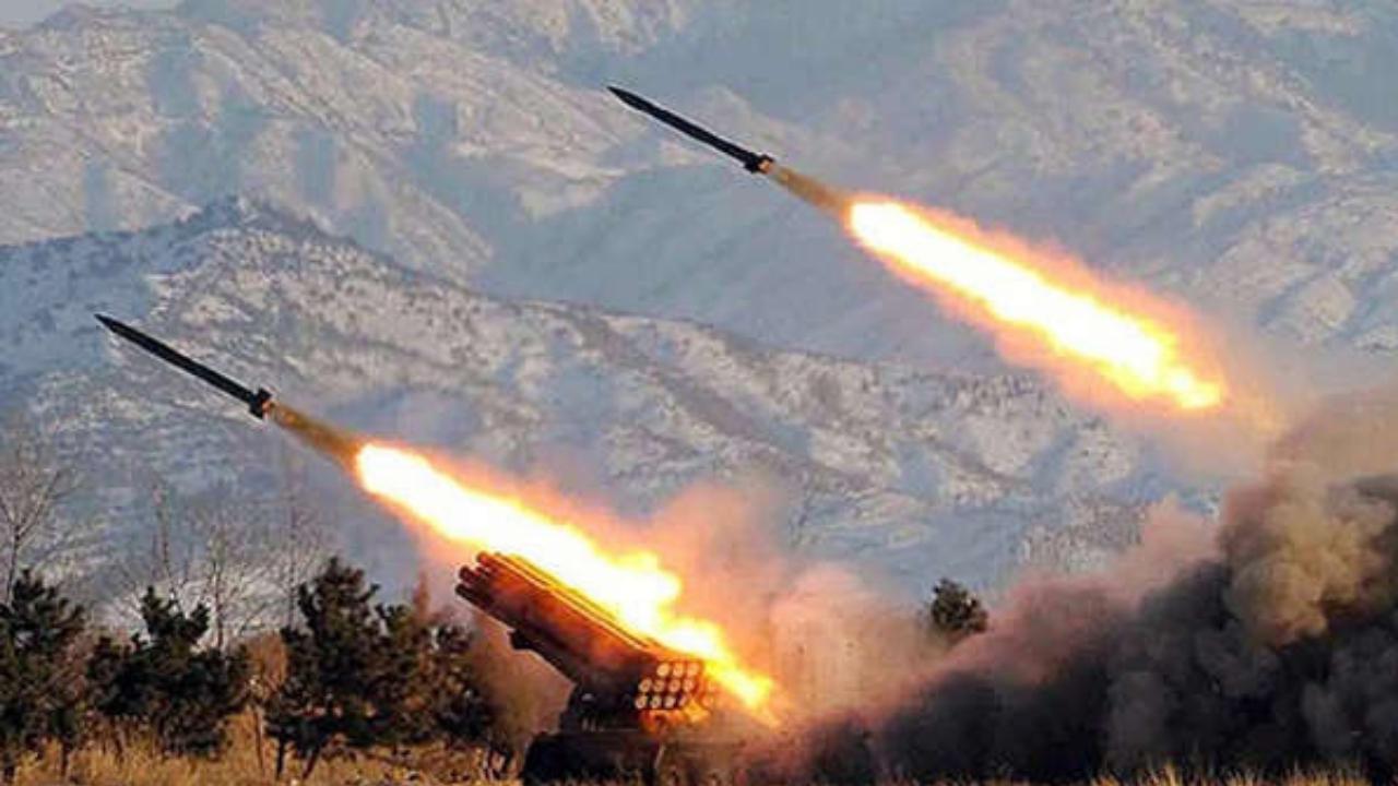 proyectiles Corea del Norte