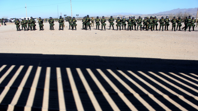 caso mexicano frontera