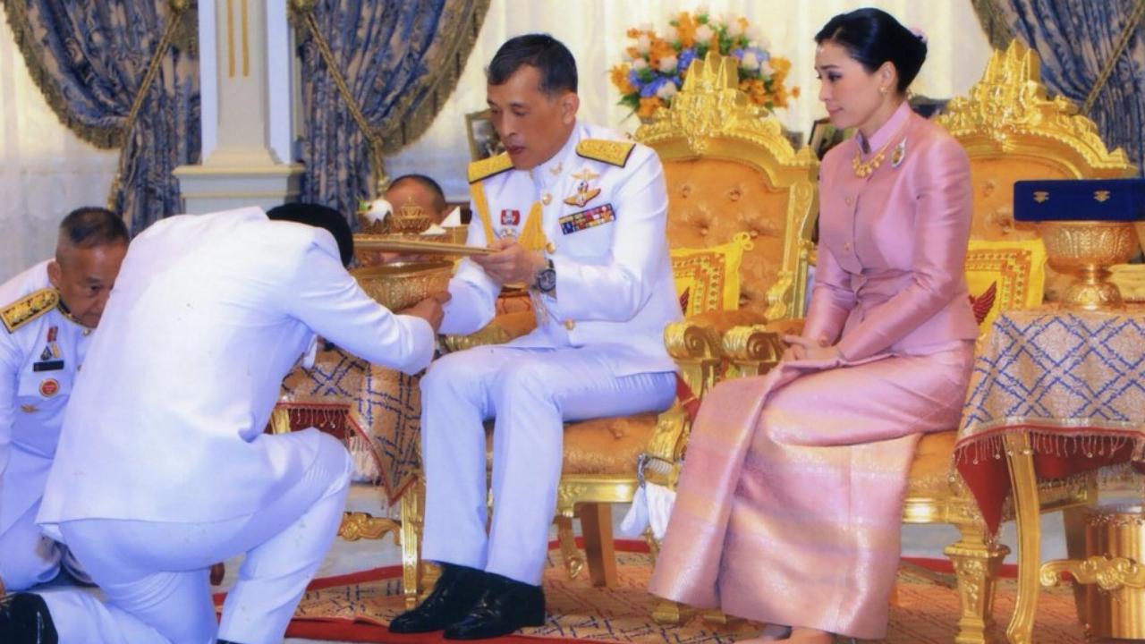 reina de Tailandia