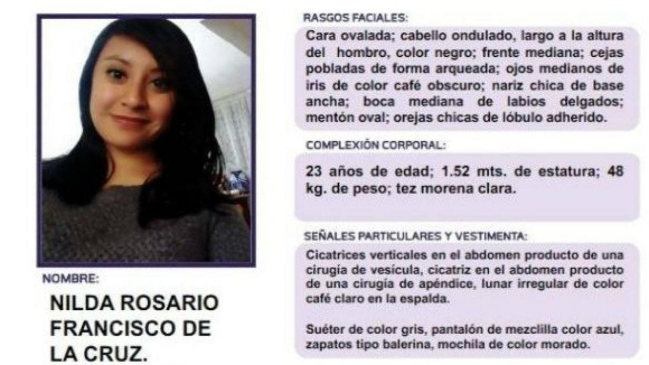 estudiante desaparecida