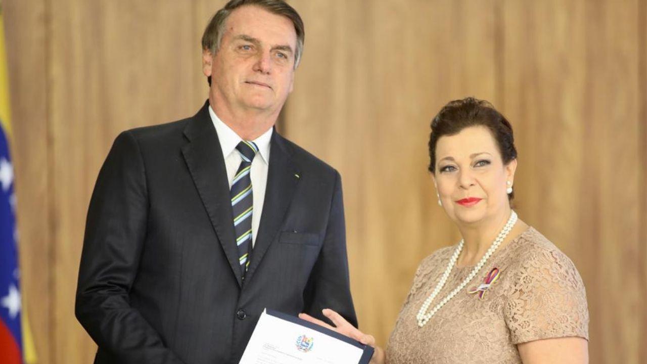 Bolsonaro embajador Guaidó