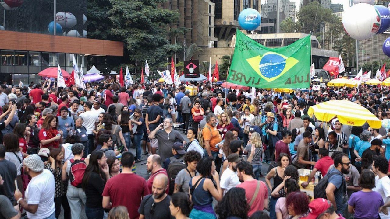 Protestas Brasil Copa América