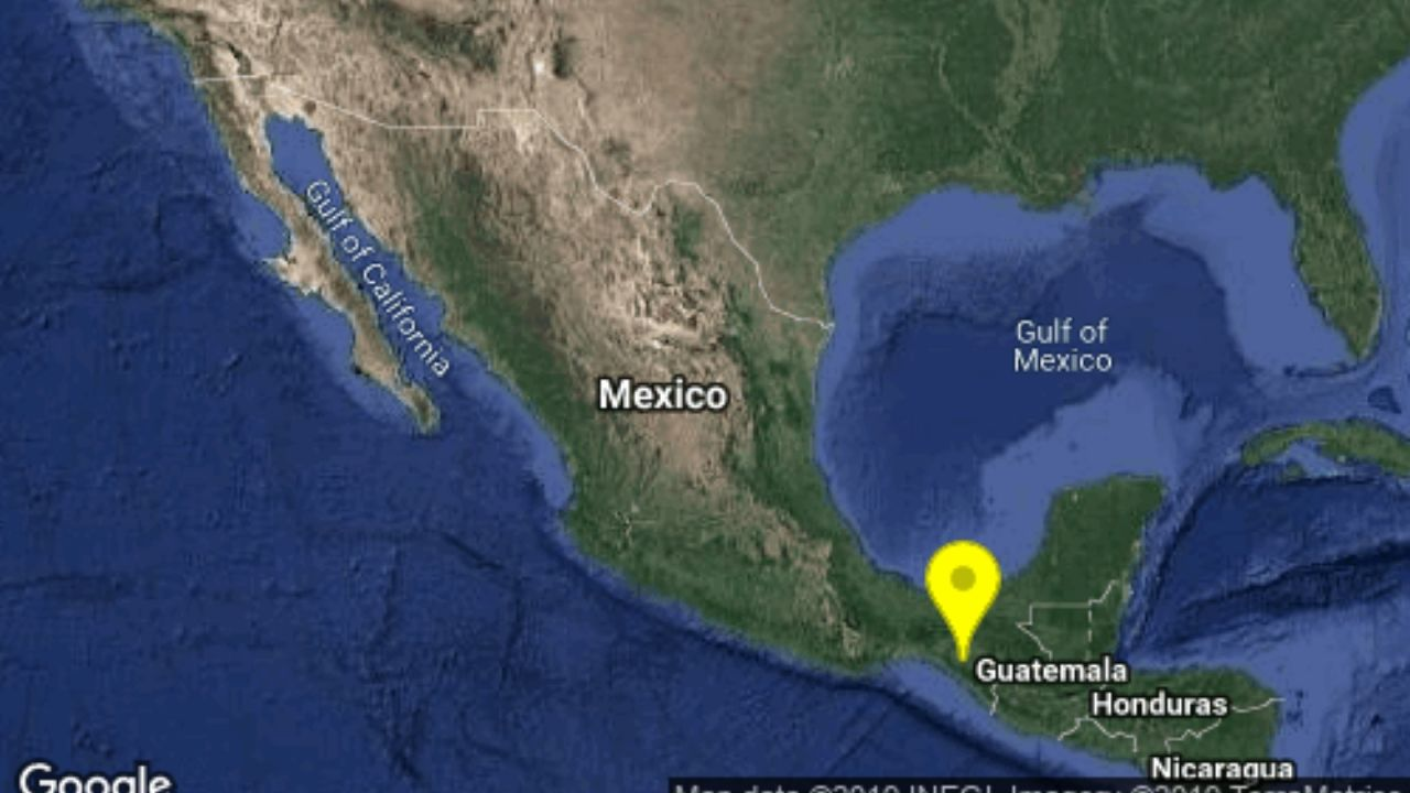 Sismos Chiapas