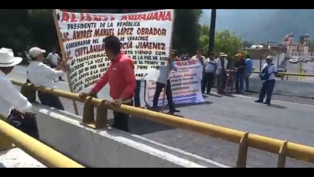 bloqueo México Orizaba