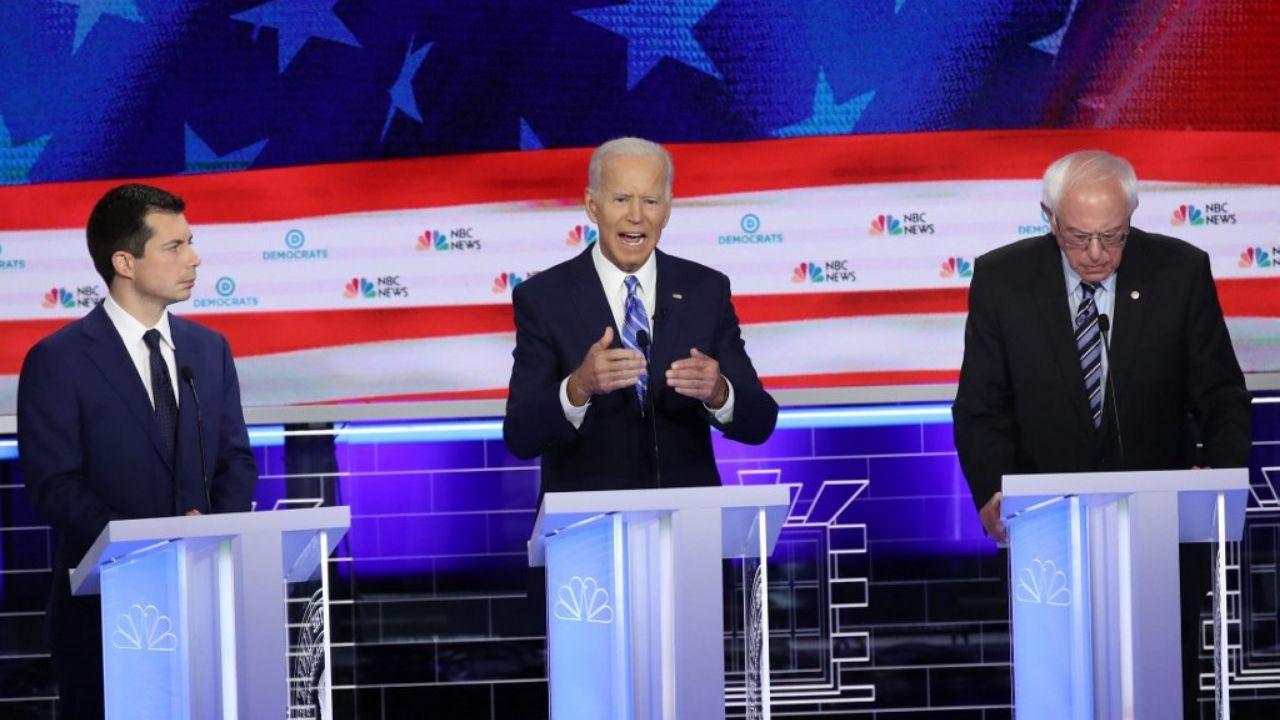Joe Biden Debate Demócrata
