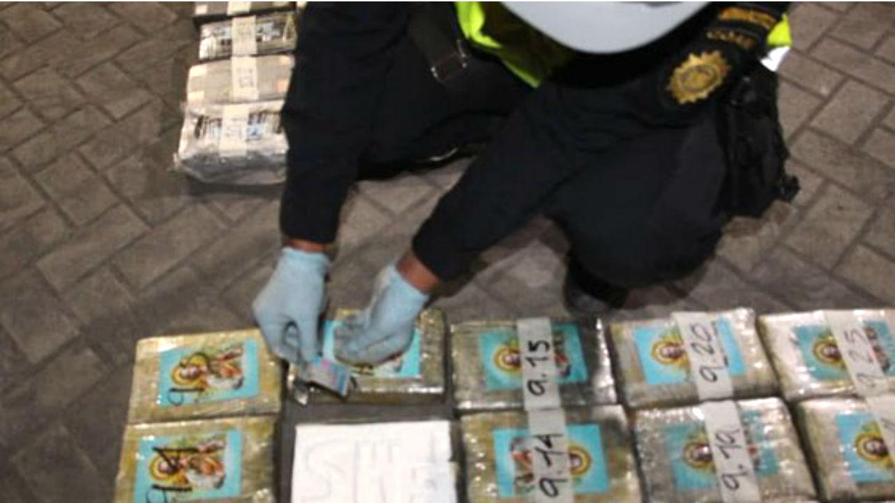 guatemala toneladas de cocaína