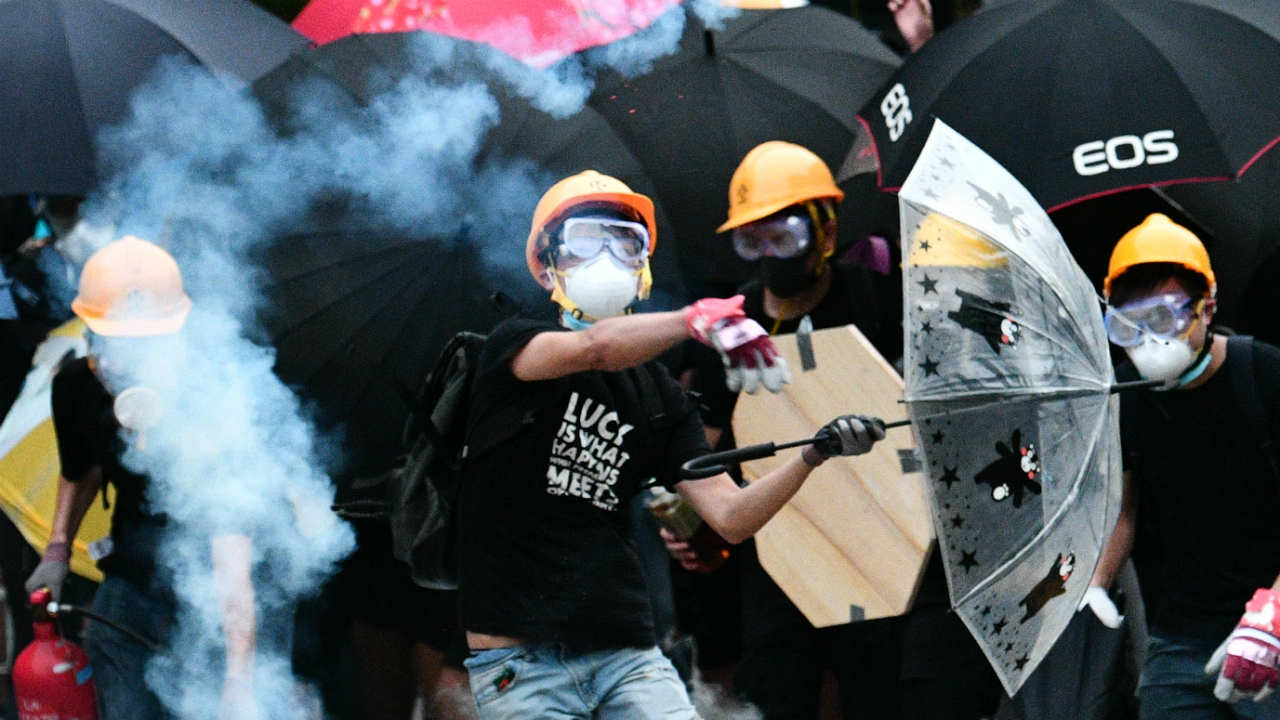 HONG KONG MANIFESTANTES