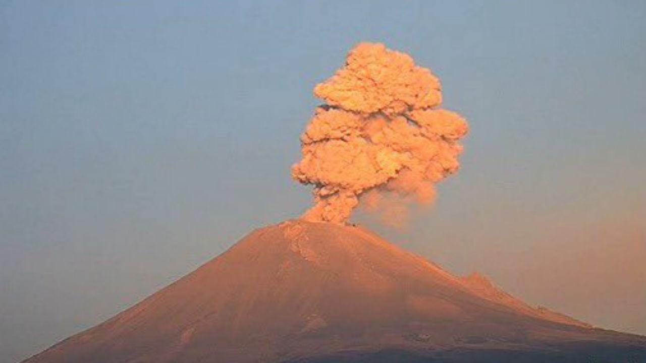 Popocatépetl actividad