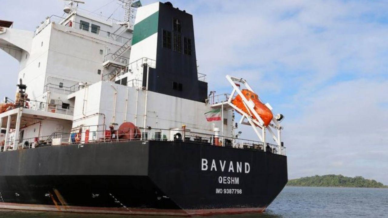 Barcos Irán Brasil