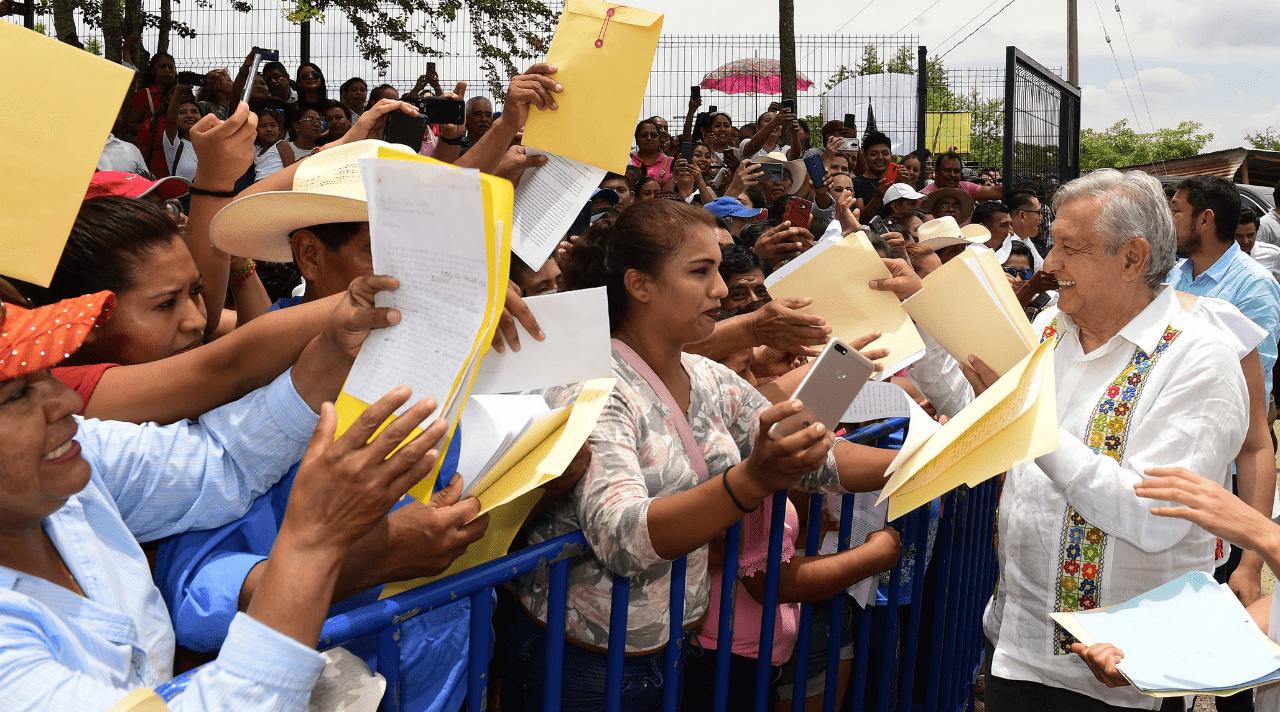 AMLO Manifestantes