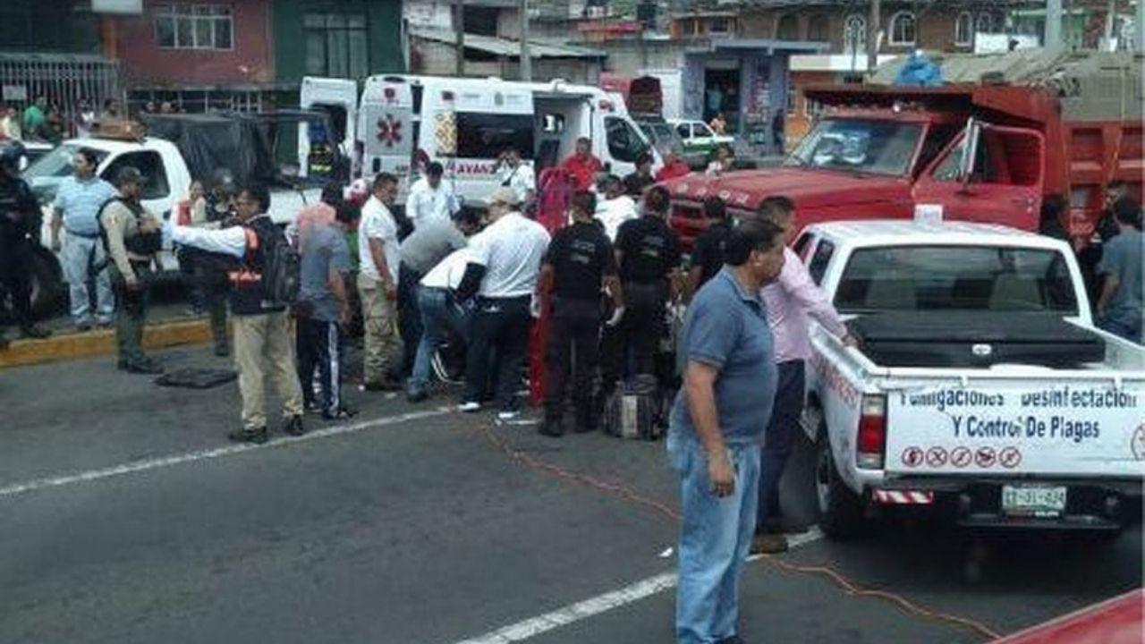 camión sin frenos Veracruz