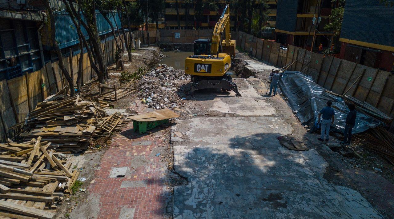 Reconstrucción CDMX