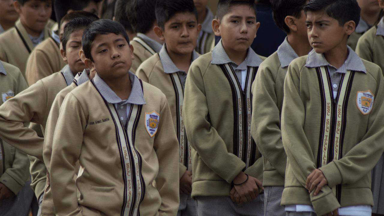 menor discapacidad escuela Chiapas