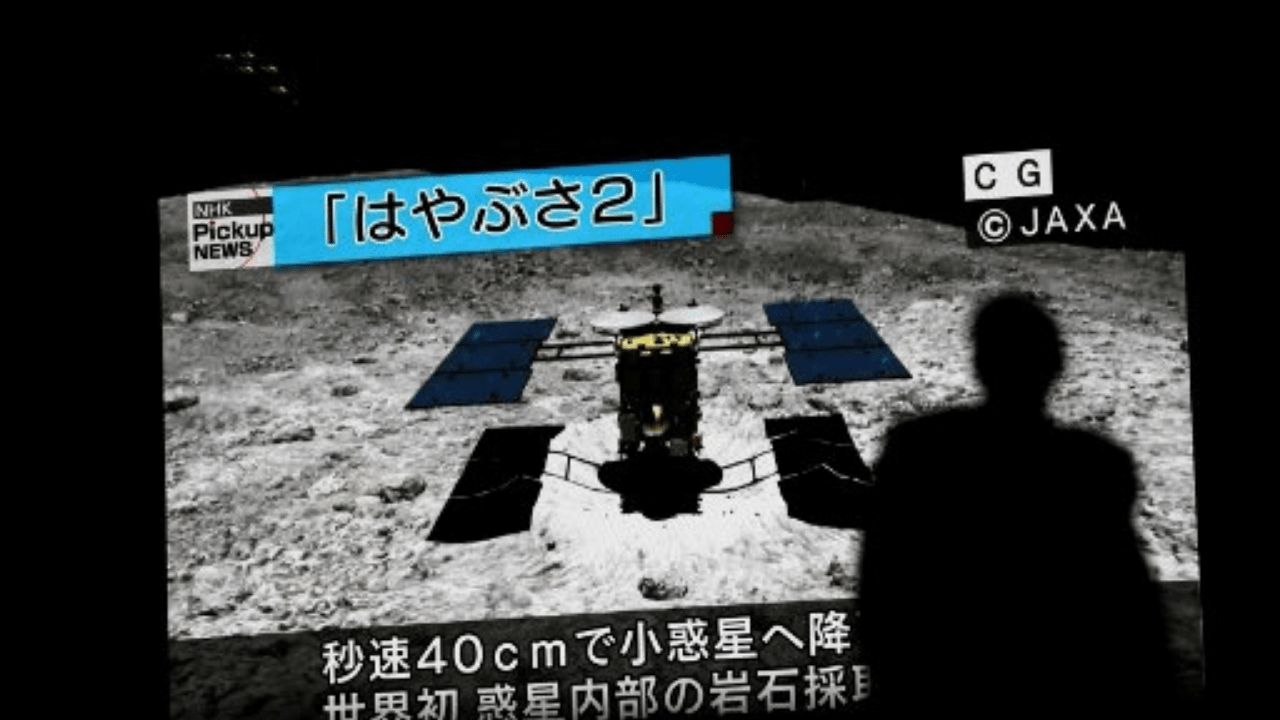 Hayabusa2 asteroide
