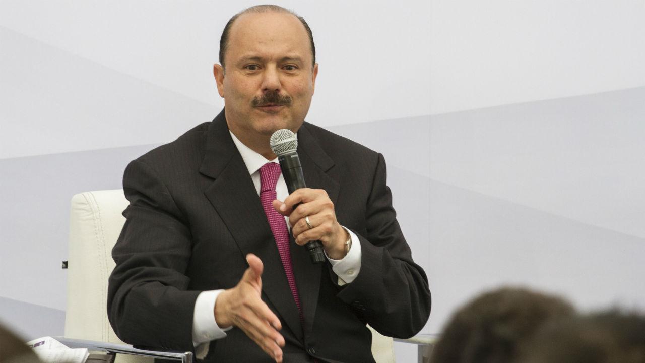 César Duarte orden captura
