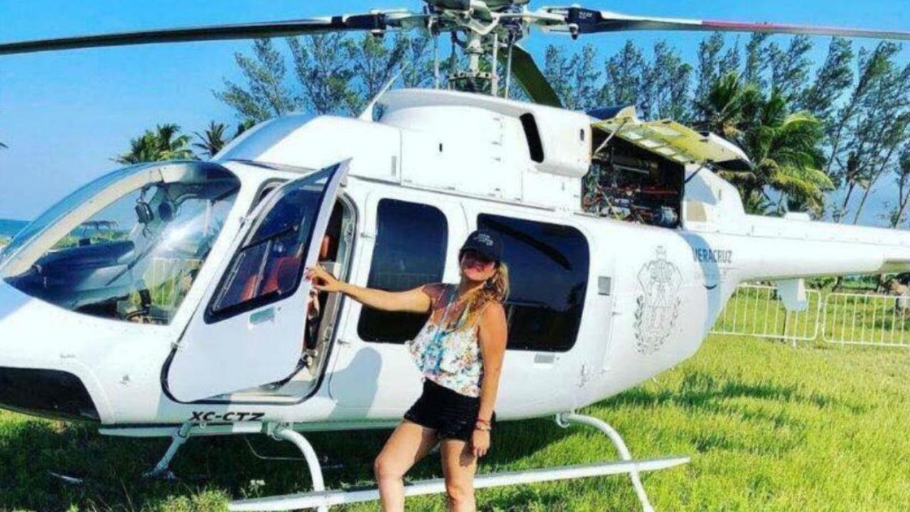 magnolia moreno helicoptero oficial reguetón
