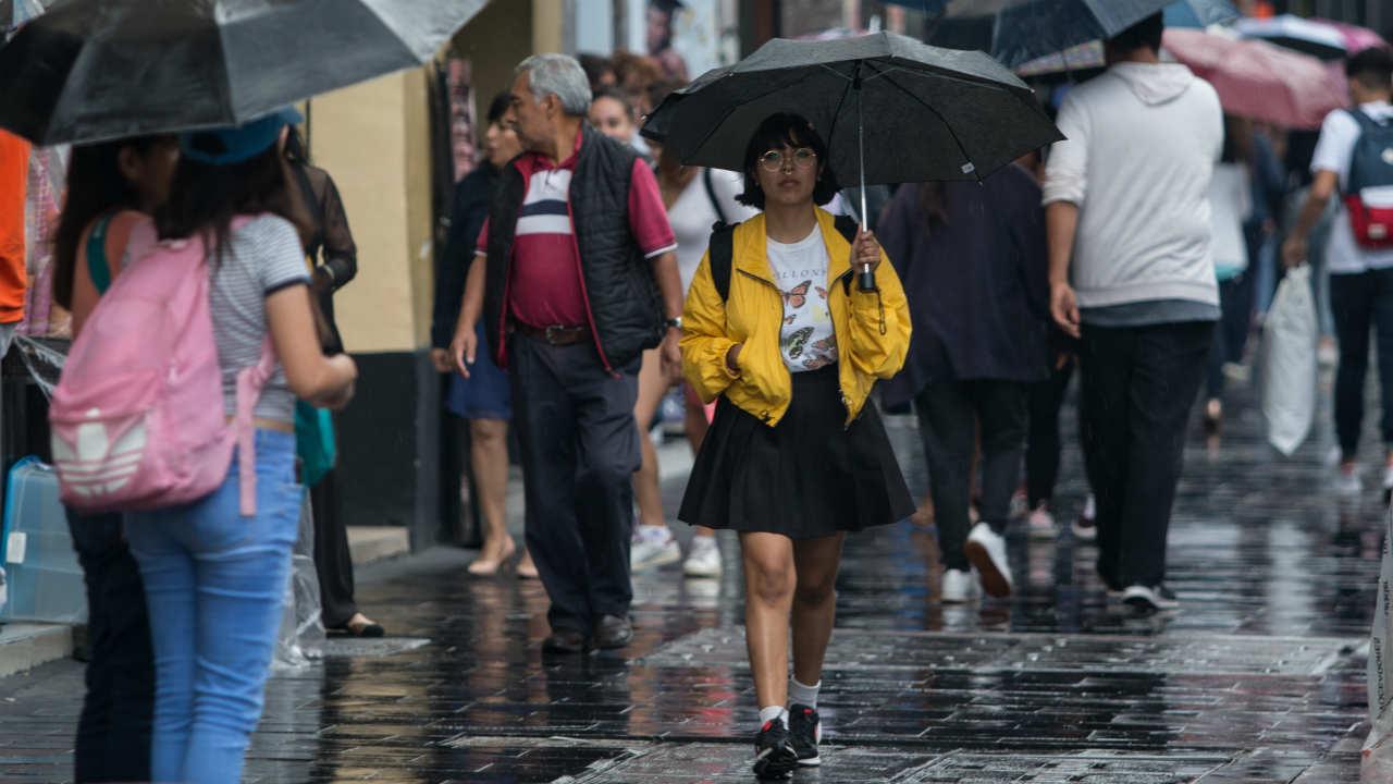 alerta amarilla lluvias cdmx