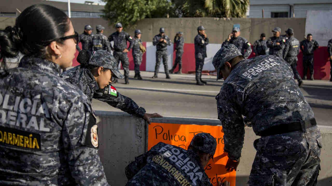 mesa diálogo policía federal sin acuerdos