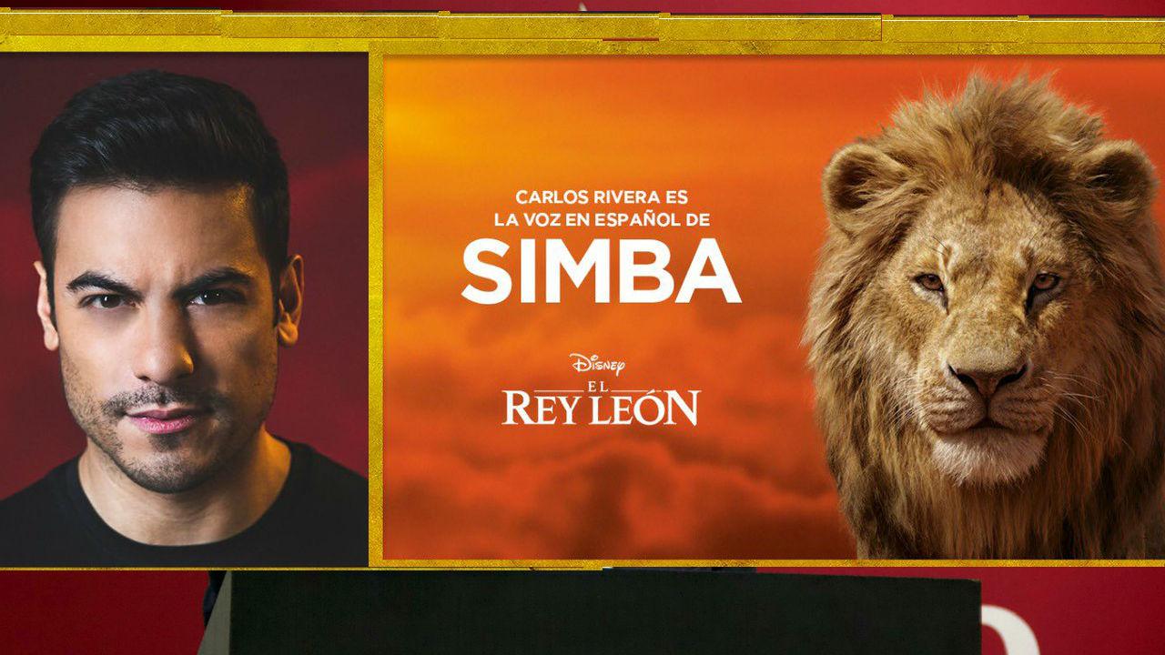 rey león carlos rivera simba