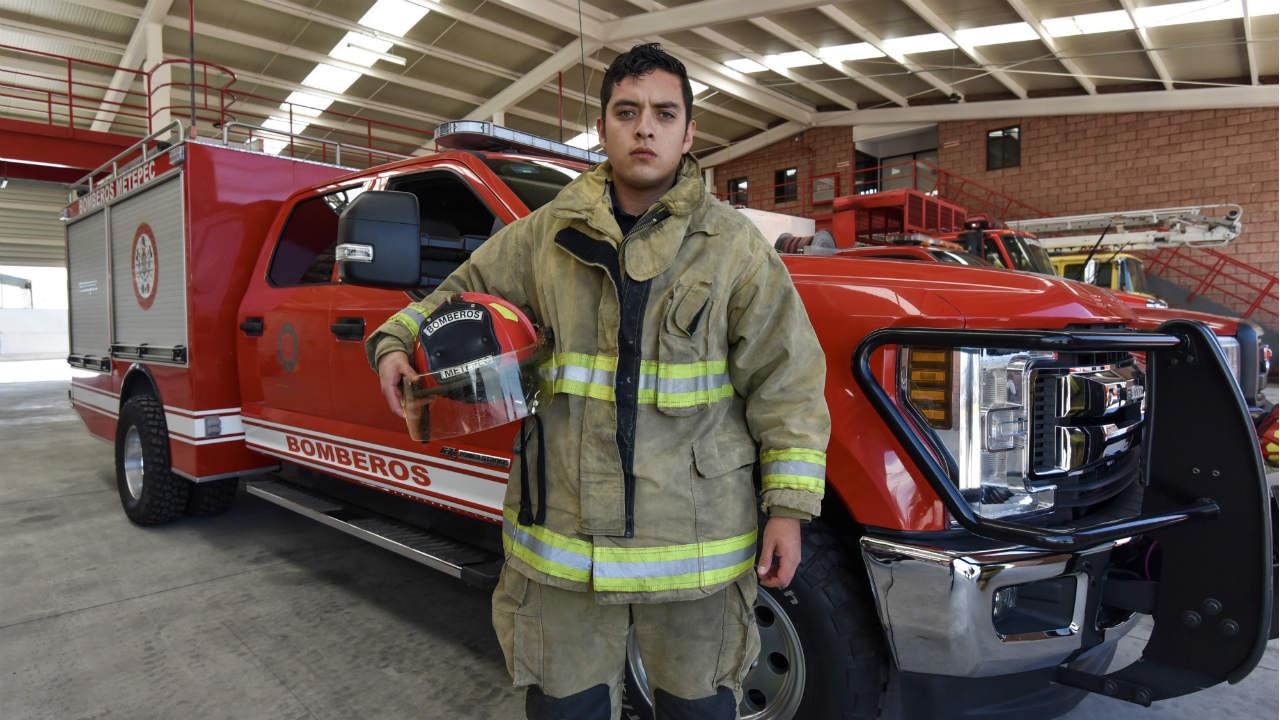 bomberos manifestarse