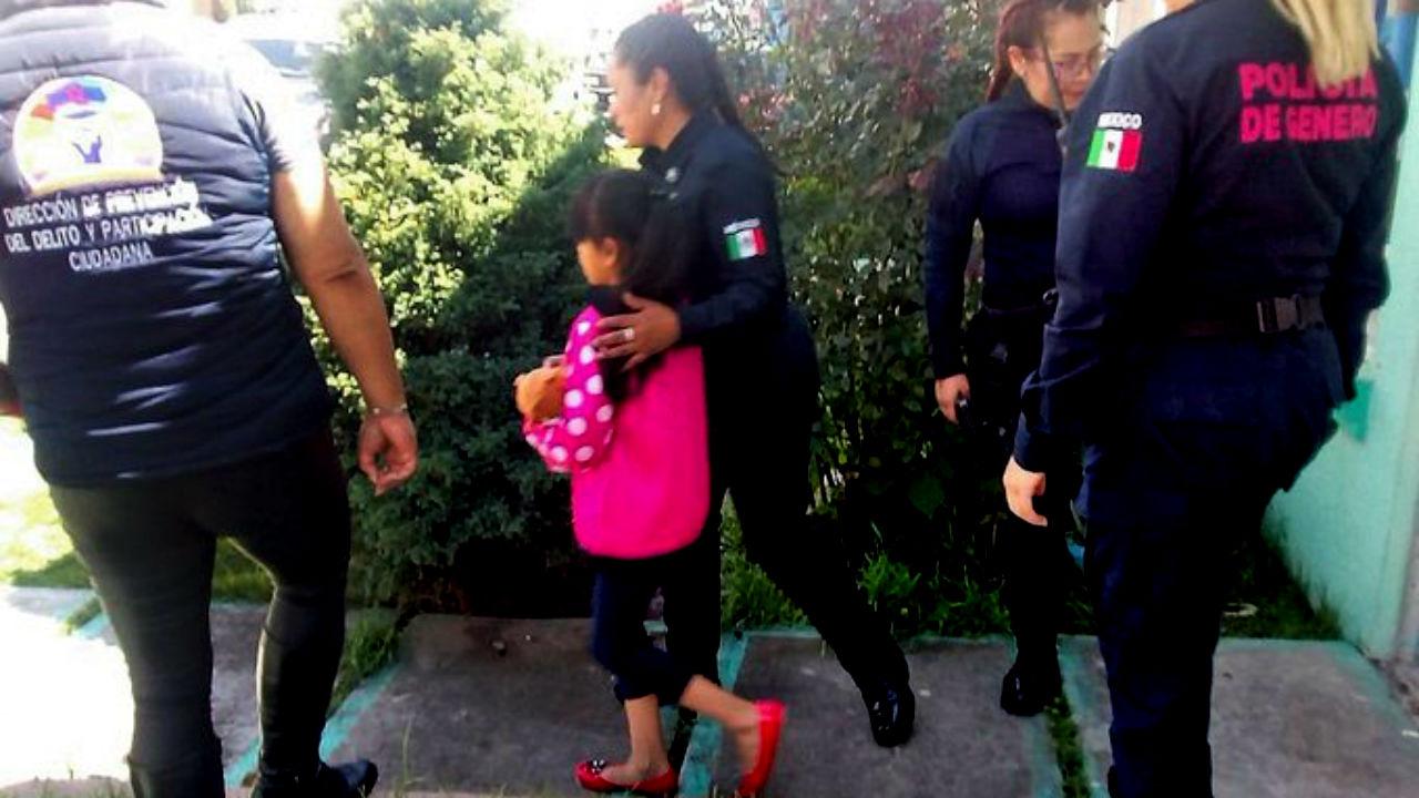 niños rescatados chalco