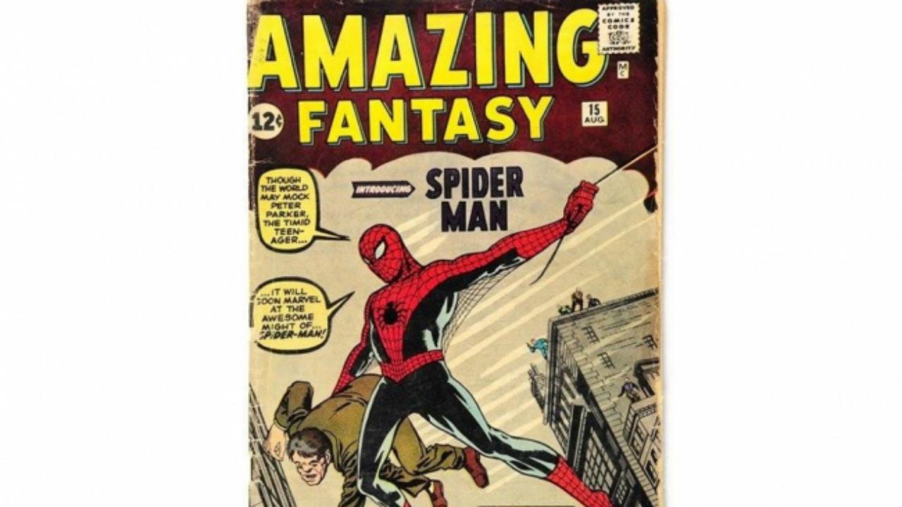 subasta primer cómic spider man