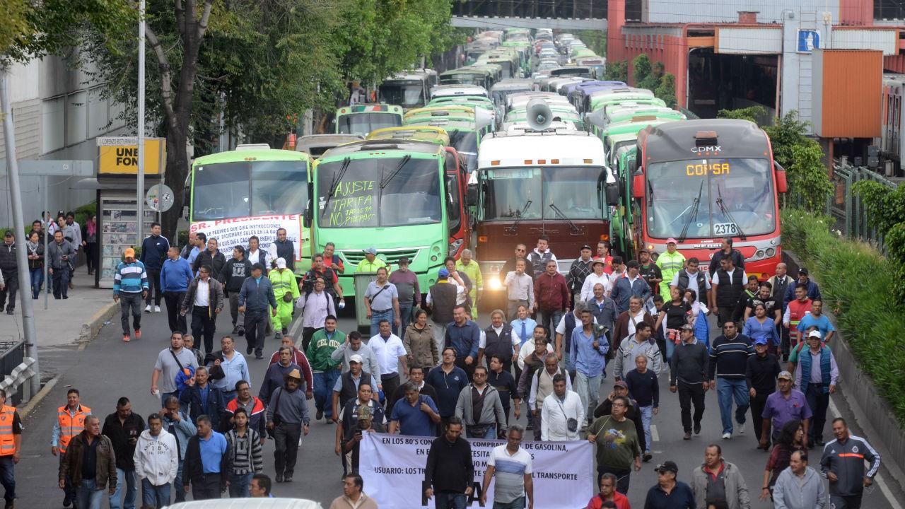 aumento tarifas transporte