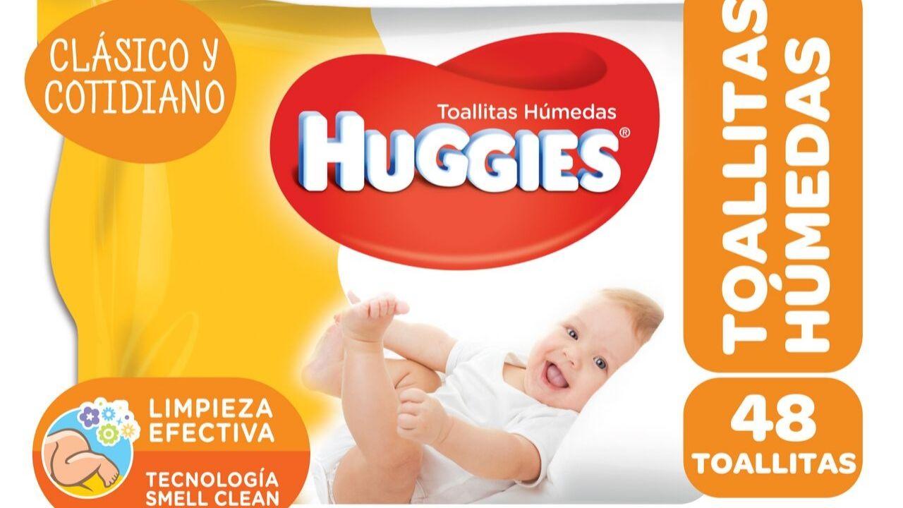 bacteria toallitas Huggies