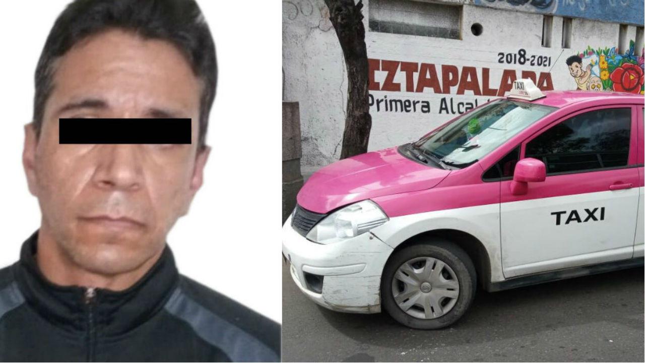 taxista violación