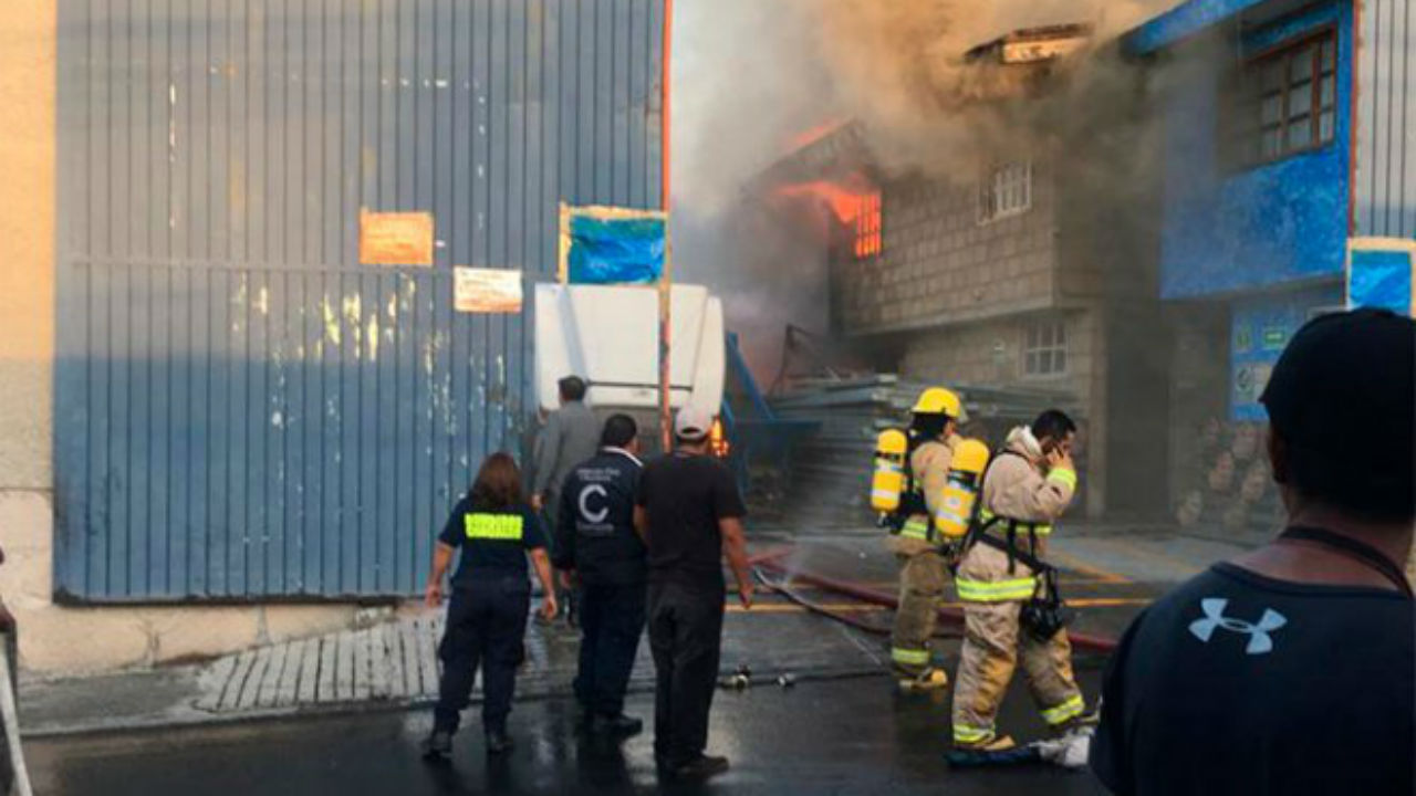 incendió fábrica coacalco