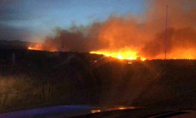 Incendio Ensenada