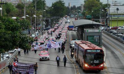 bloqueos taxistas