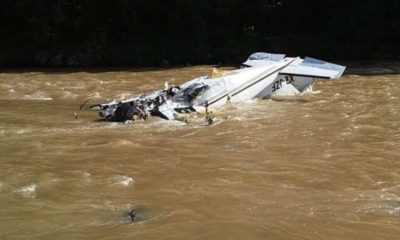 desplome aeronave michoacán