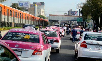 taxistas bloqueos