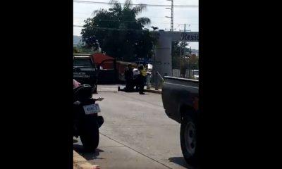 policías heridos michoacán