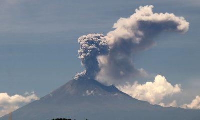Ceniza Popocatépetl