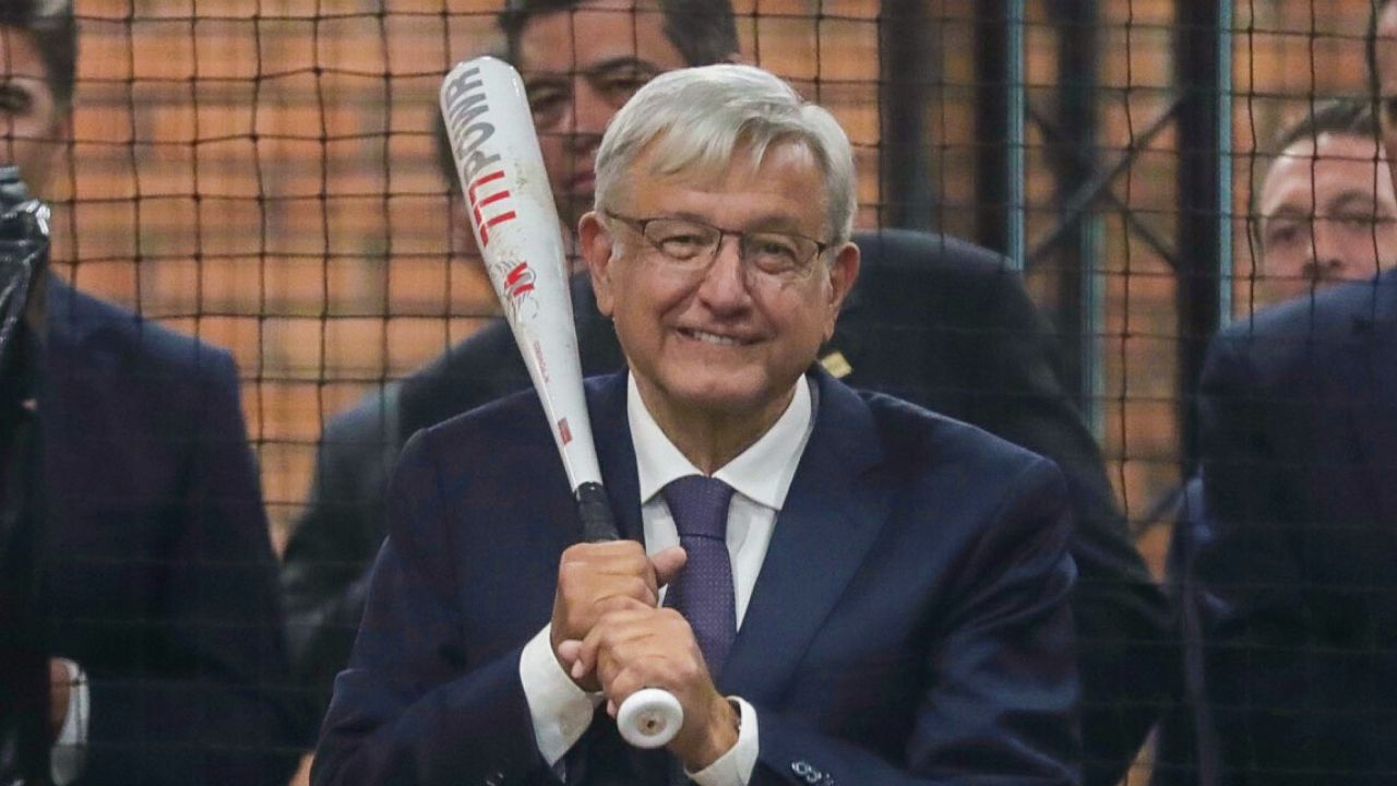 López Obrador beisbol